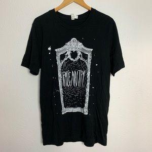 Pageantry Band Mirror Black & White Tee Shirt